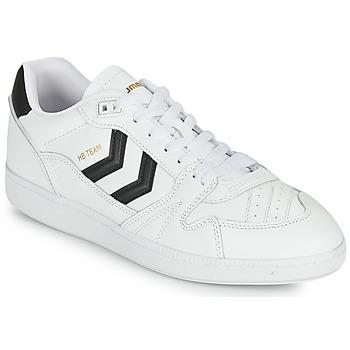 Skor Herr Sneakers Hummel HB TEAM Vit / Svart