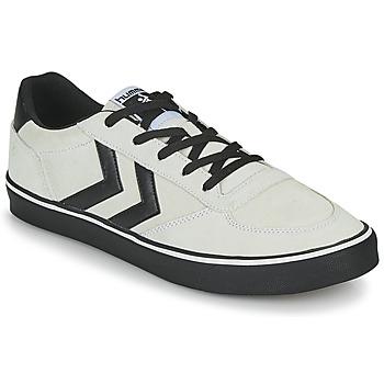 Skor Herr Sneakers Hummel STADIL 3.0 SUEDE Beige / Svart