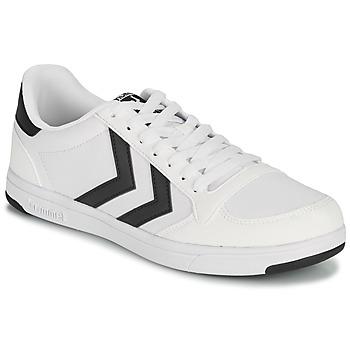 Skor Herr Sneakers Hummel STADIL LIGHT CANVAS Vit