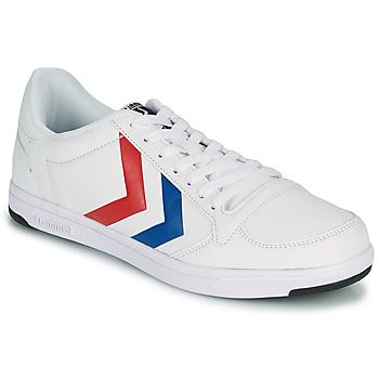 Skor Herr Sneakers Hummel STADIL LIGHT Vit / Blå / Röd