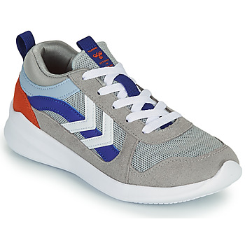 Skor Barn Sneakers Hummel BOUNCE JR Grå / Blå