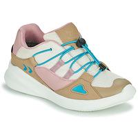Skor Barn Sneakers Hummel BOUNCE RUNNER TEX JR Beige / Rosa