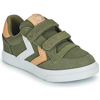 Skor Barn Sneakers Hummel STADIL LOW JR Grön