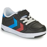 Skor Barn Sneakers Hummel STADIL LIGHT QUICK JR Svart