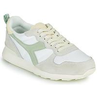 Skor Dam Sneakers Diadora CAMARO ICONA WN Vit / Grön