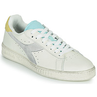Skor Dam Sneakers Diadora GAME L LOW ICONA WN Vit / Blå