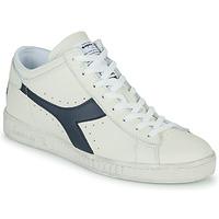 Skor Höga sneakers Diadora GAME L WAXED ROW CUT Vit