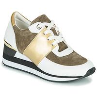 Skor Dam Sneakers Karston SILMON Vit / Guldfärgad