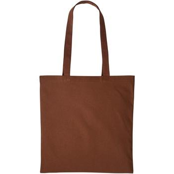 Väskor Shoppingväskor Nutshell RL100 Mörkbrun