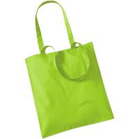 Väskor Shoppingväskor Westford Mill W101 Lime