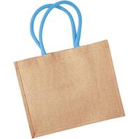 Väskor Shoppingväskor Westford Mill W407 Naturlig/Surf Blue