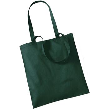 Väskor Shoppingväskor Westford Mill W101 Flaskegrön