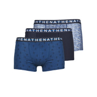 Underkläder  Herr Boxershorts Athena EASY STYLE X3 Blå / Marin / Blå