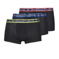 Underkläder  Herr Boxershorts Athena FULL STRETCH X3 Svart