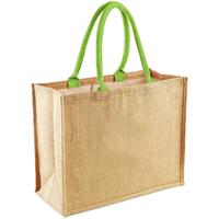 Väskor Shoppingväskor Westford Mill W407 Naturlig/Lime