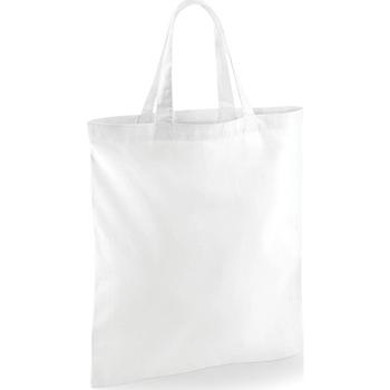 Väskor Shoppingväskor Westford Mill W101S Vit