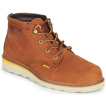 Skor Herr Boots Caterpillar JACKSON MID Brun