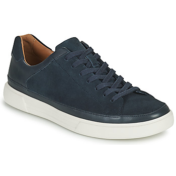 Skor Herr Sneakers Clarks UN COSTA TIE Blå