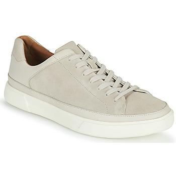 Skor Herr Sneakers Clarks UN COSTA TIE Vit