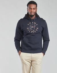 textil Herr Sweatshirts Tommy Hilfiger ICON COIN HOODY Marin
