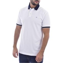 textil Herr T-shirts & Pikétröjor Hackett HM562698 Vit