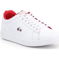 Skor Herr Sneakers Lacoste Carnaby Evo Vit