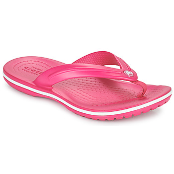 Skor Barn Flip-flops Crocs CROCBAND FLIP GS Rosa
