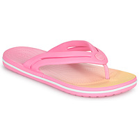 Skor Dam Flip-flops Crocs CROCBAND OMBRE FLIP W Rosa