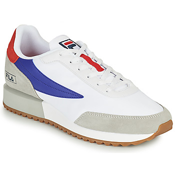 Skor Herr Sneakers Fila RETRONIQUE Vit / Blå / Röd