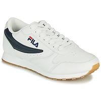 Skor Herr Sneakers Fila ORBIT LOW Vit / Blå