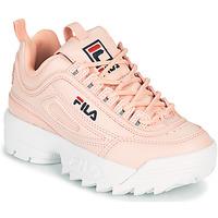 Skor Flickor Sneakers Fila DISRUPTOR KIDS Rosa