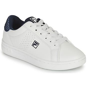 Skor Pojkar Sneakers Fila CROSSCOURT 2 NT KIDS Vit / Blå