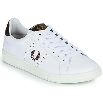 Skor Herr Sneakers Fred Perry B721 Vit