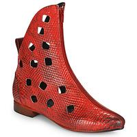 Skor Dam Boots Papucei SAKURA Röd