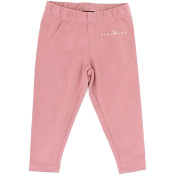 textil Flickor Leggings Richmond Kids RIA20027TS Pink