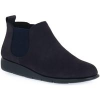 Skor Dam Boots Frau NABOUCK NAVY Blu