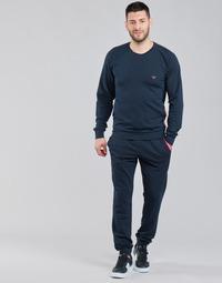 textil Herr Sportoverall Emporio Armani STRETCH TERRY Marin