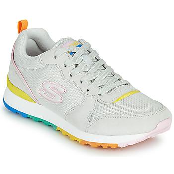 Skor Dam Sneakers Skechers OG 85 Vit / Gul