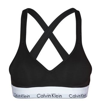 Underkläder  Dam Bh Calvin Klein Jeans MODERN COTTON BRALETTE LIFT Svart