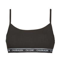 Underkläder  Dam Bh Calvin Klein Jeans UNLINED BRALETTE Svart