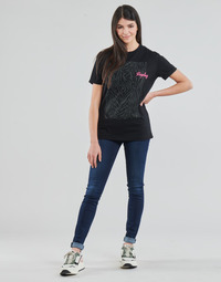 textil Dam Skinny Jeans Replay NEW LUZ Blå / Mörk