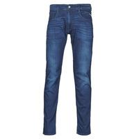 textil Herr Stuprörsjeans Replay ANBASS Pants Blå