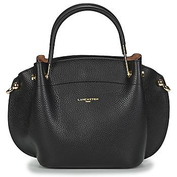 Väskor Dam Handväskor med kort rem LANCASTER FOULONNE DOUBLE 18 Svart