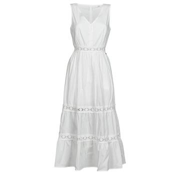 textil Dam Korta klänningar Deeluxe MAEL Benvit