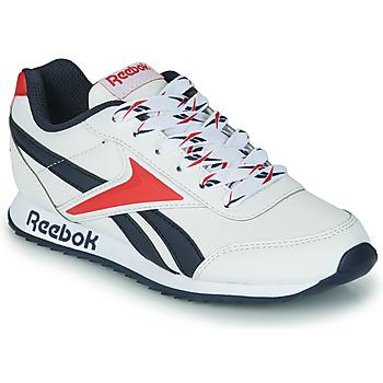 Skor Barn Sneakers Reebok Classic REEBOK ROYAL CLJOG 2 Vit / Marin / Röd