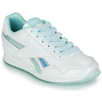 Skor Flickor Sneakers Reebok Classic REEBOK ROYAL CLJOG 3.0 Vit / Blå