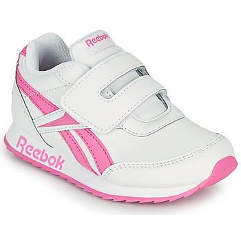 Skor Flickor Sneakers Reebok Classic REEBOK ROYAL CLJOG 2 KC Vit / Rosa
