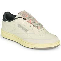 Skor Herr Sneakers Reebok Classic CLUB C 85 Beige / Svart