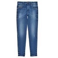 textil Flickor Skinny Jeans Diesel D-SLANDY HIGH Blå