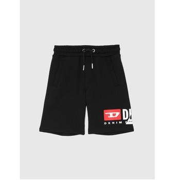 textil Pojkar Shorts / Bermudas Diesel PSHORTCUTY Svart